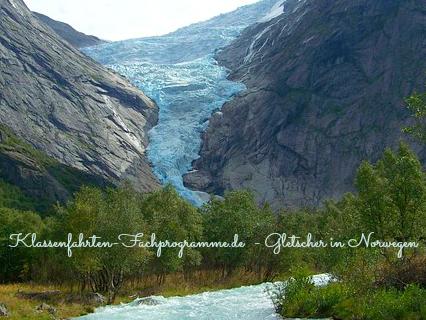 Norwegen - Gletscher