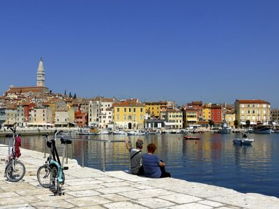 Hafen von Piran / Italien