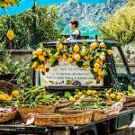 Südfrüchte-Verkauf am Golf von Genua / Italien