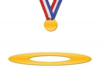 Goldmedallie Olymia - Logo Aurelia e.V.