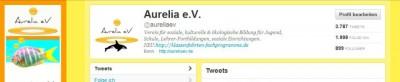 Aurelia e.V. Twitter-Vorschau