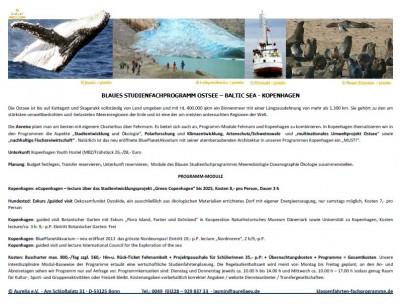 Programm für Klassenfahrt Ostsee und Kopenhagen
