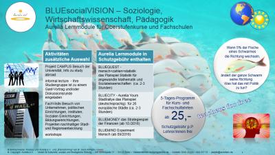 Klassenfahrten-Fachprogramm für Soziologie, Wirtschaftswissenschaft, Pädagogik