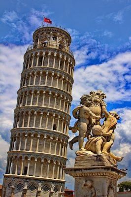Schiefer Turm von Pisa - Klassenfahhrten Italien