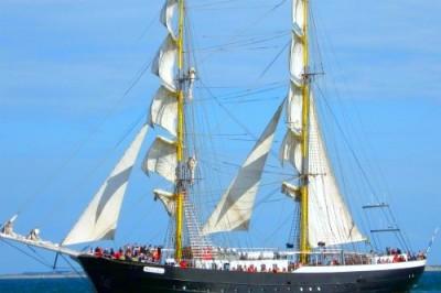 Segelschiff auf der Nordsee