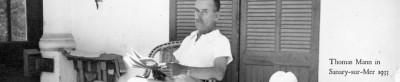 Exilliterat Thomas Mann in Sanary-sur-mer