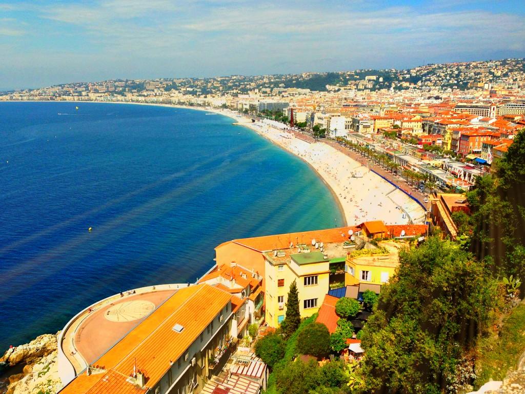 Mittelmeerküste von Frankreich - Côte d'Azur - Nizza