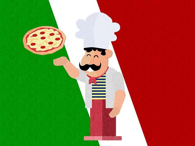 Keine Klassenfahrt nach Italien ohne Pizza für alle.