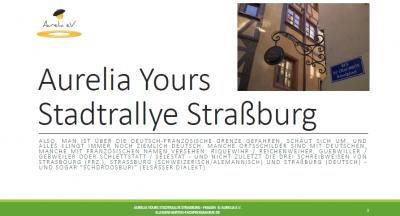Programm Modul für Studienklassenfahrten nach Frankreich - ins Elsaß.