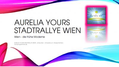 Aurelia Yours Stadtrallye Wien
