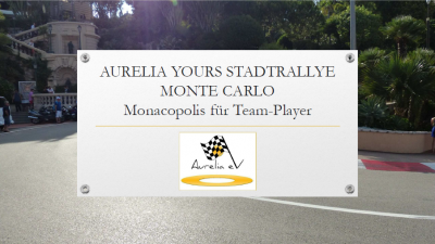 BLUECITY Aurelia Stadtrallye Monte Carlo