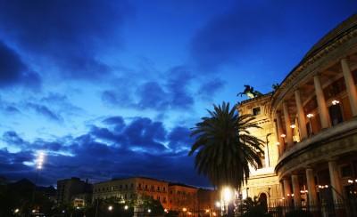 Palermo am Abend