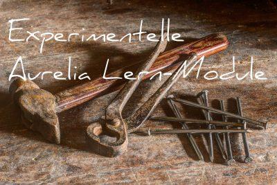 Experimentelle Aurelia Lern-Module