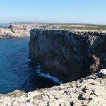 Steilküste an der Algarve / Portugal