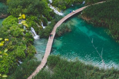 Nationalpark Plitvice in Kroatien