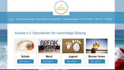 Aurelia e.V. Homepage
