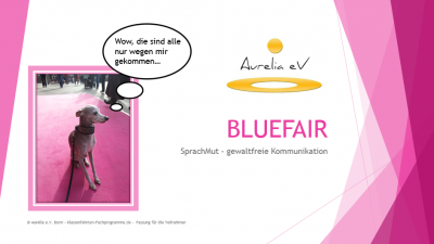 BLUEFAIR - Aurelia Lernmodul
