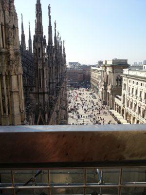 Klassenfahrt Italien - Mailand - Dom