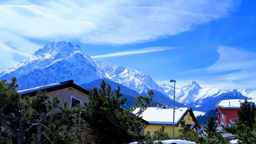 Schweiz - Engadiner Berge