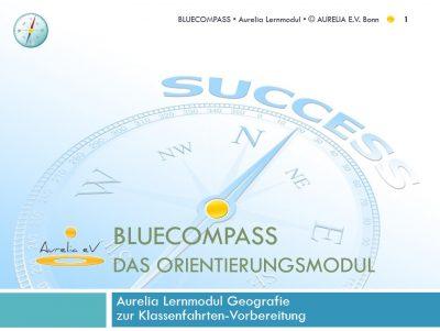 BLUECOMPASS - Aurelia Lernmodul zur Klassenfahrtenplanung