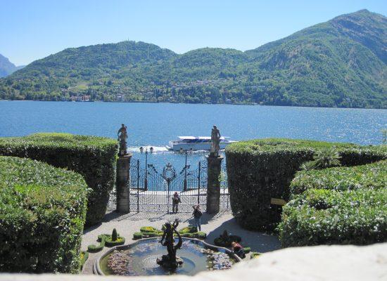 Eingangstor Park Villa Charlotta