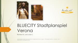 BLUECITIY Stadtrallye Verona