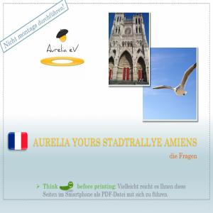 BLUECITY Stadtrallye Amiens - Frankreich