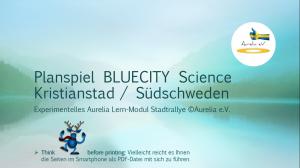 BLUECITY Stadtrallye Kristianstad - Schweden