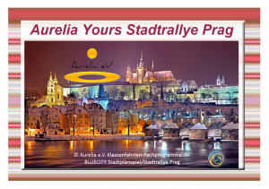 BLUECITY Stadtrallye Prag - Tschechien