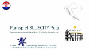 BLUECITY Stadtrallye Pula - Istrien