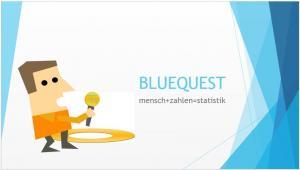 BLUEQUEST mensch+zahlen=statistik